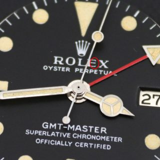 Rolex Long E Zifferblatt